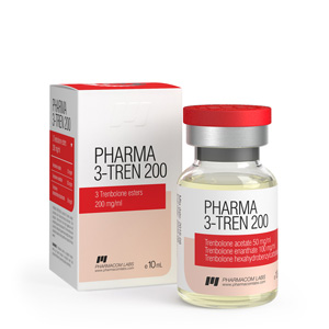 Acquista Trenbolone Mix (Tri Tren): Pharma 3 Tren 200 Prezzo