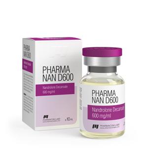 Acquista Nandrolone decanoato (Deca): Pharma Nan D600 Prezzo
