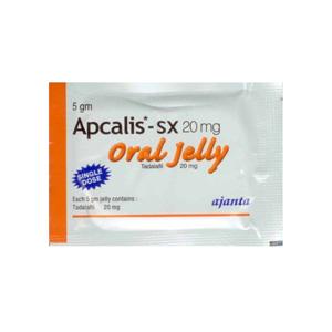 Acquista Tadalafil: Apcalis SX Oral Jelly Prezzo