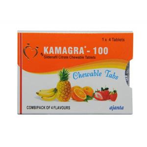 Acquista Citrato di sildenafil: Kamagra Chewable Prezzo