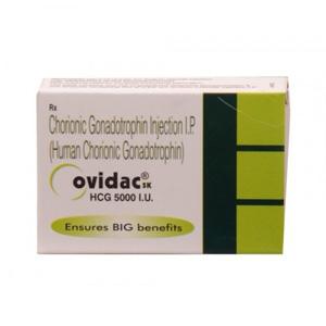 Acquista HCG: Ovidac 5000 IU Prezzo