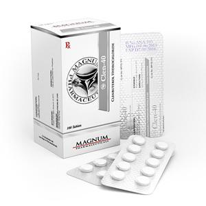 Acquista Clenbuterol hydrochloride (Clen): Magnum Clen-40 Prezzo