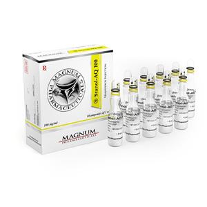 Acquista Iniezione di Stanozolol (deposito di Winstrol): Magnum Stanol-AQ 100 Prezzo