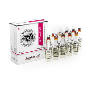 Acquista Testosterone cypionate: Magnum Test-C 300 Prezzo