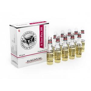 Acquista Sustanon 250 (miscela di testosterone): Magnum Test-Plex 300 Prezzo