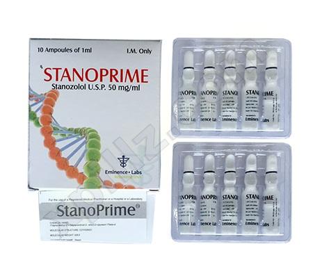 Acquista Iniezione di Stanozolol (deposito di Winstrol): Stanoprime Prezzo