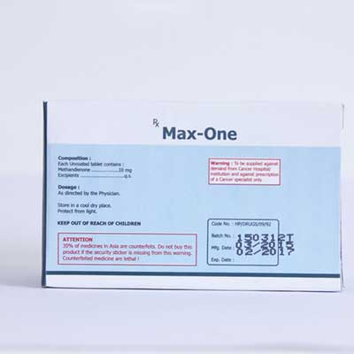 Acquista Methandienone orale (Dianabol): Max-One Prezzo