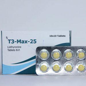 Acquista Liothyronine (T3): T3-Max-25 Prezzo