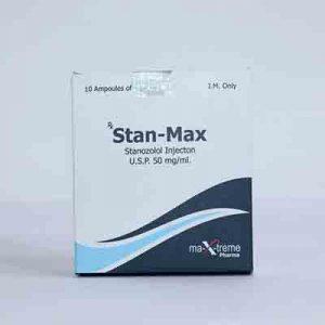 Acquista Iniezione di Stanozolol (deposito di Winstrol): Stan-Max Prezzo