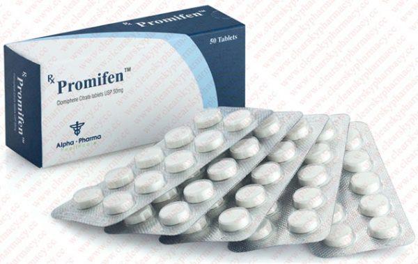 Acquista Clomifene citrato (Clomid): Promifen Prezzo