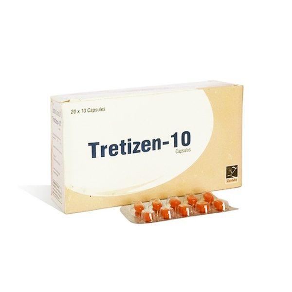 Acquista isotretinoina (Accutane): Tretizen 10 Prezzo