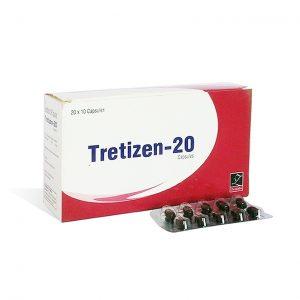 Acquista isotretinoina (Accutane): Tretizen 20 Prezzo