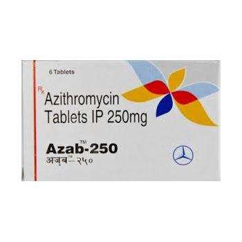 Acquista azitromicina: Azab 250 Prezzo