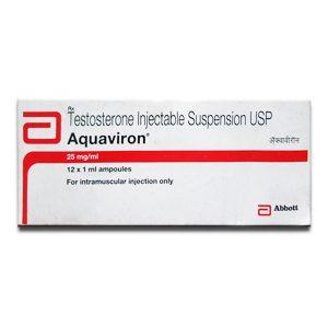 Acquista Sospensione di testosterone: Aquaviron Prezzo